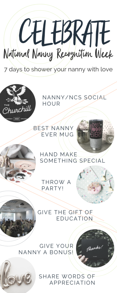 Ways to show your nanny appreciation